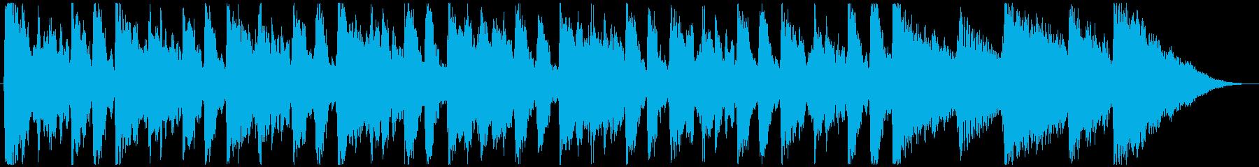 これは5/4拍子記号のラテンバイブ...の再生済みの波形