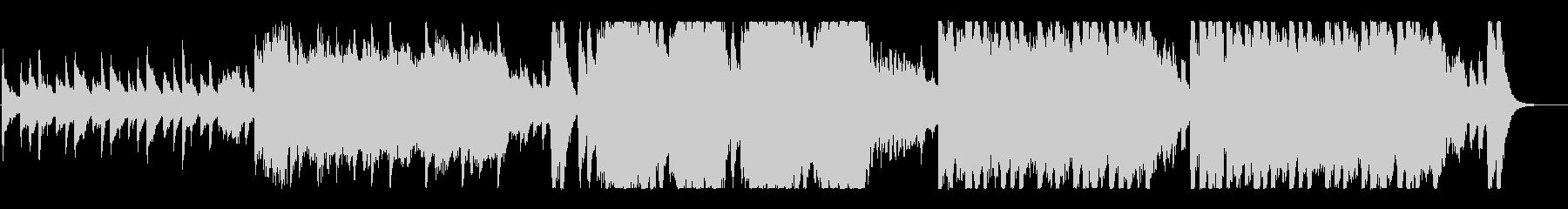 妖しくコミカル、ハロウィンオーケストラの未再生の波形
