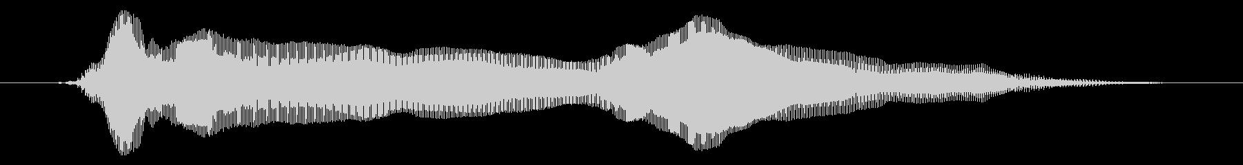 鳴き声 男性の勝利市民02の未再生の波形