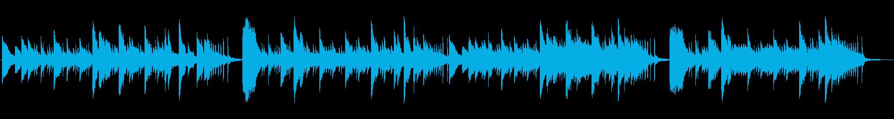 ゆっくりと奇妙なメロディー。の再生済みの波形