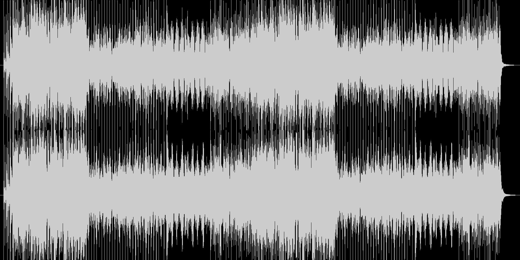 ループ曲となってます。 適度に編集して…の未再生の波形