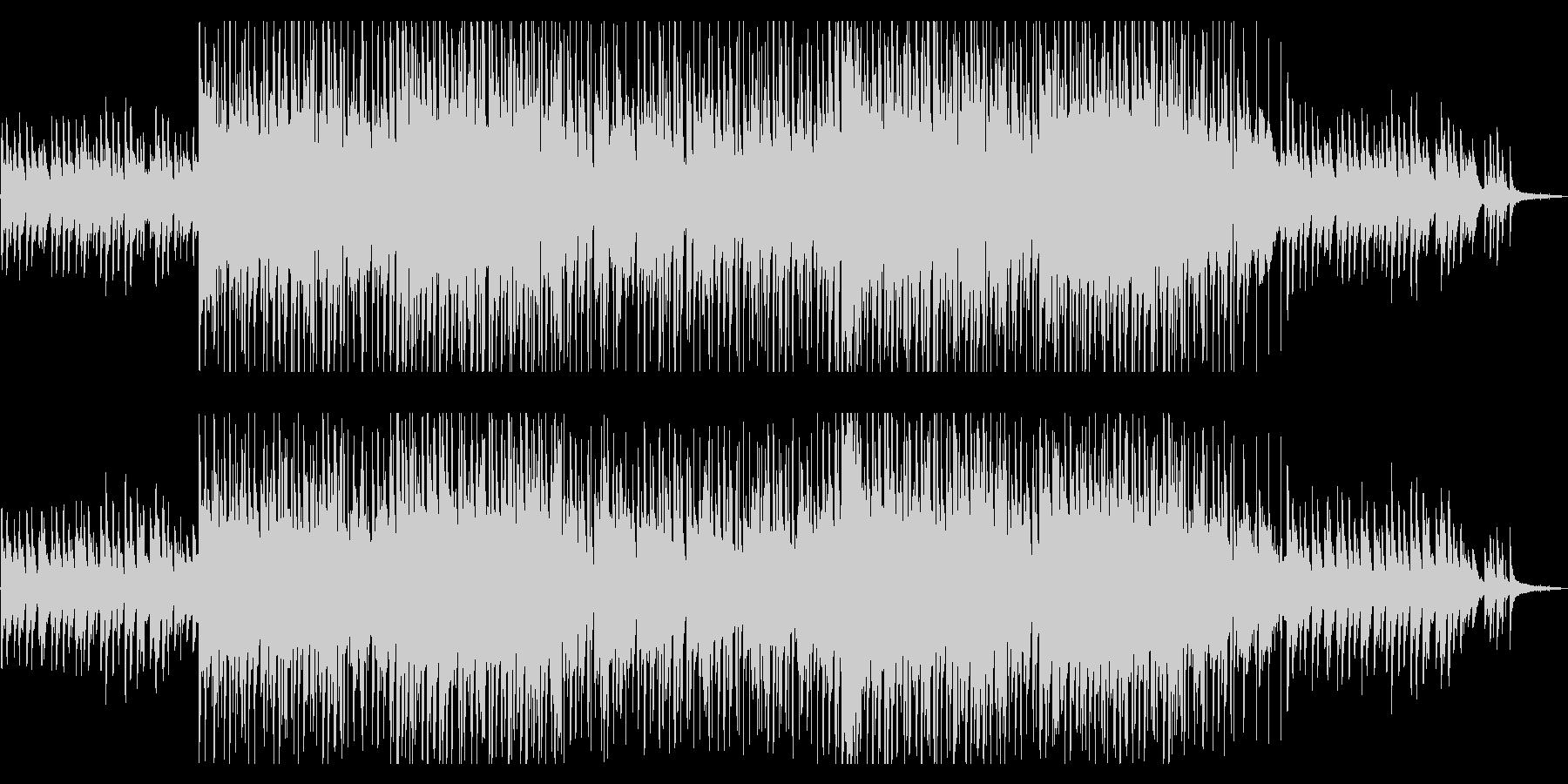 切ないピアノLOFI HIPHOP風の未再生の波形