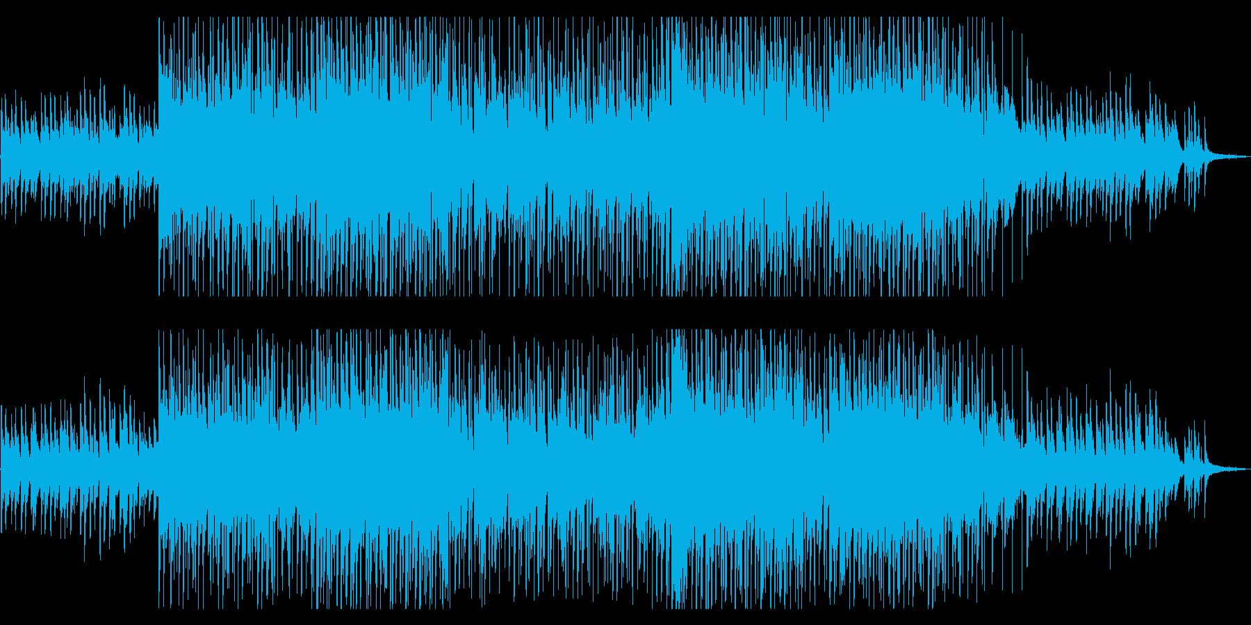切ないピアノLOFI HIPHOP風の再生済みの波形