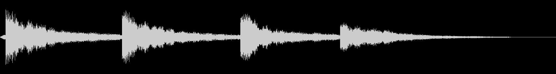 パークチャーチベルトーリングの未再生の波形