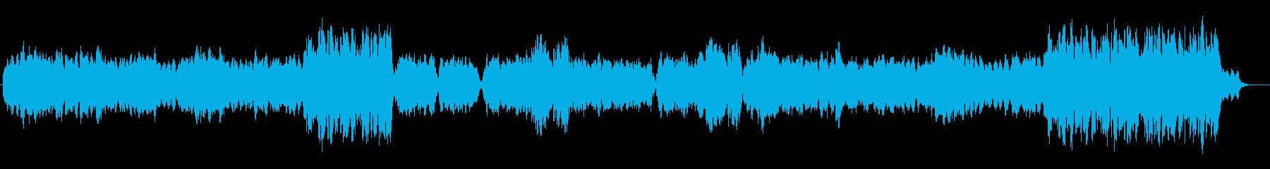 交響曲 静かな旋律から力強く盛り上がるの再生済みの波形