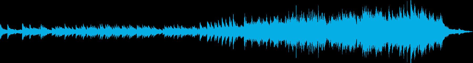 エレガントでドラマティックなピアノソロの再生済みの波形