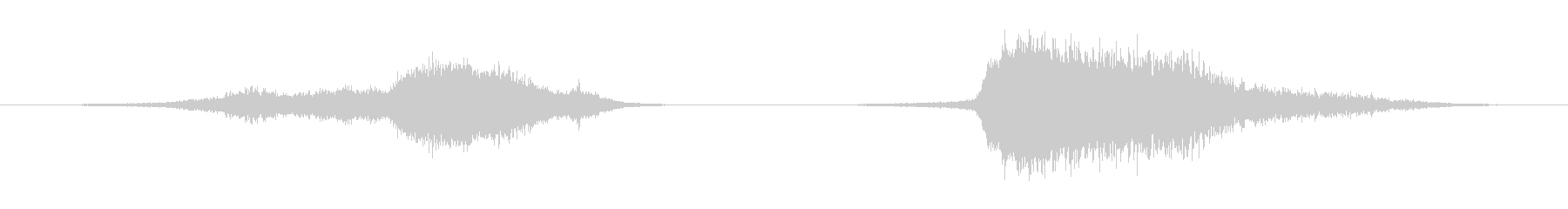 フィクション 電力装置 崩壊01の未再生の波形