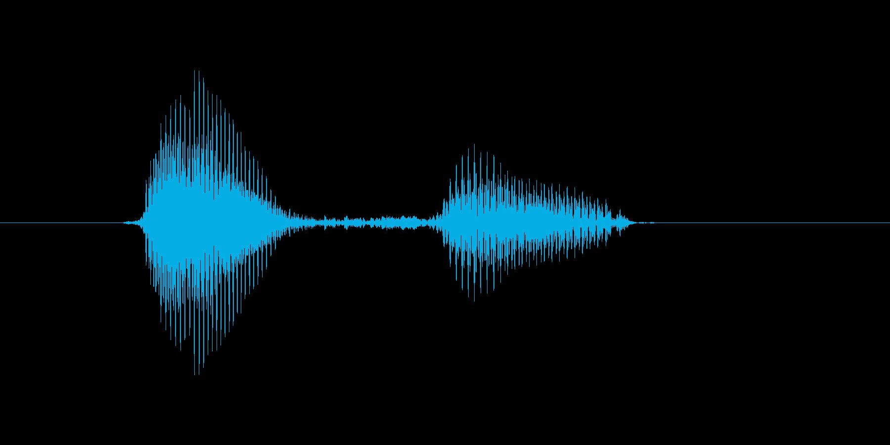 f,F,F(エフ)の再生済みの波形