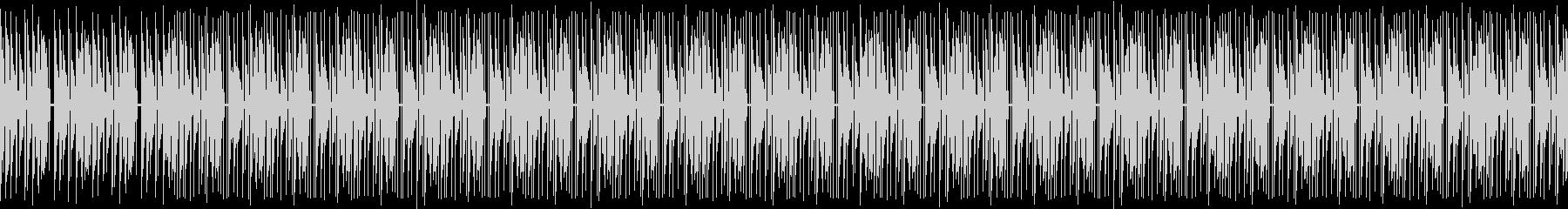 BPM95のヒップホップ風ビートの未再生の波形