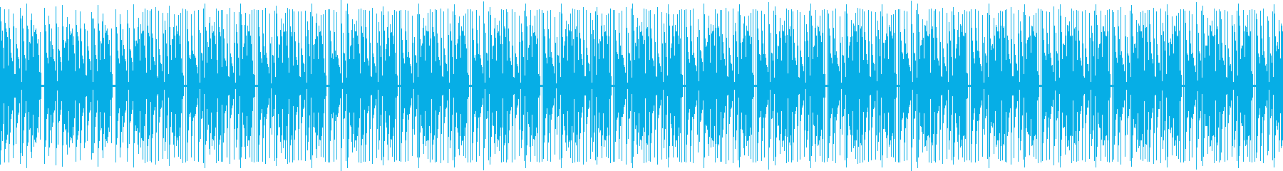 BPM95のヒップホップ風ビートの再生済みの波形