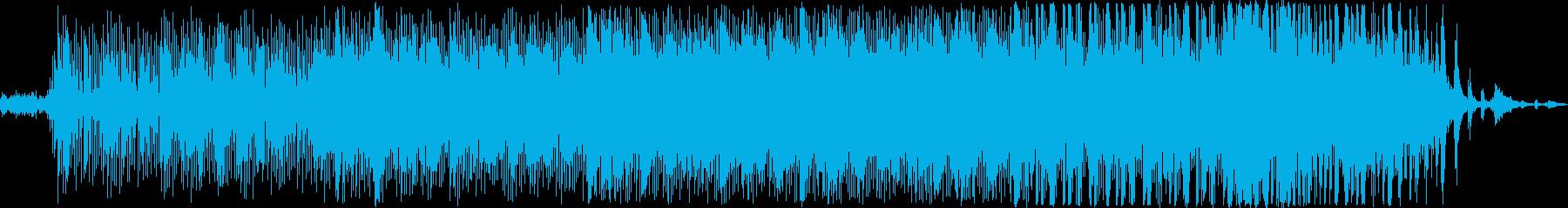 なめらか、リラックス、反射、しつこ...の再生済みの波形