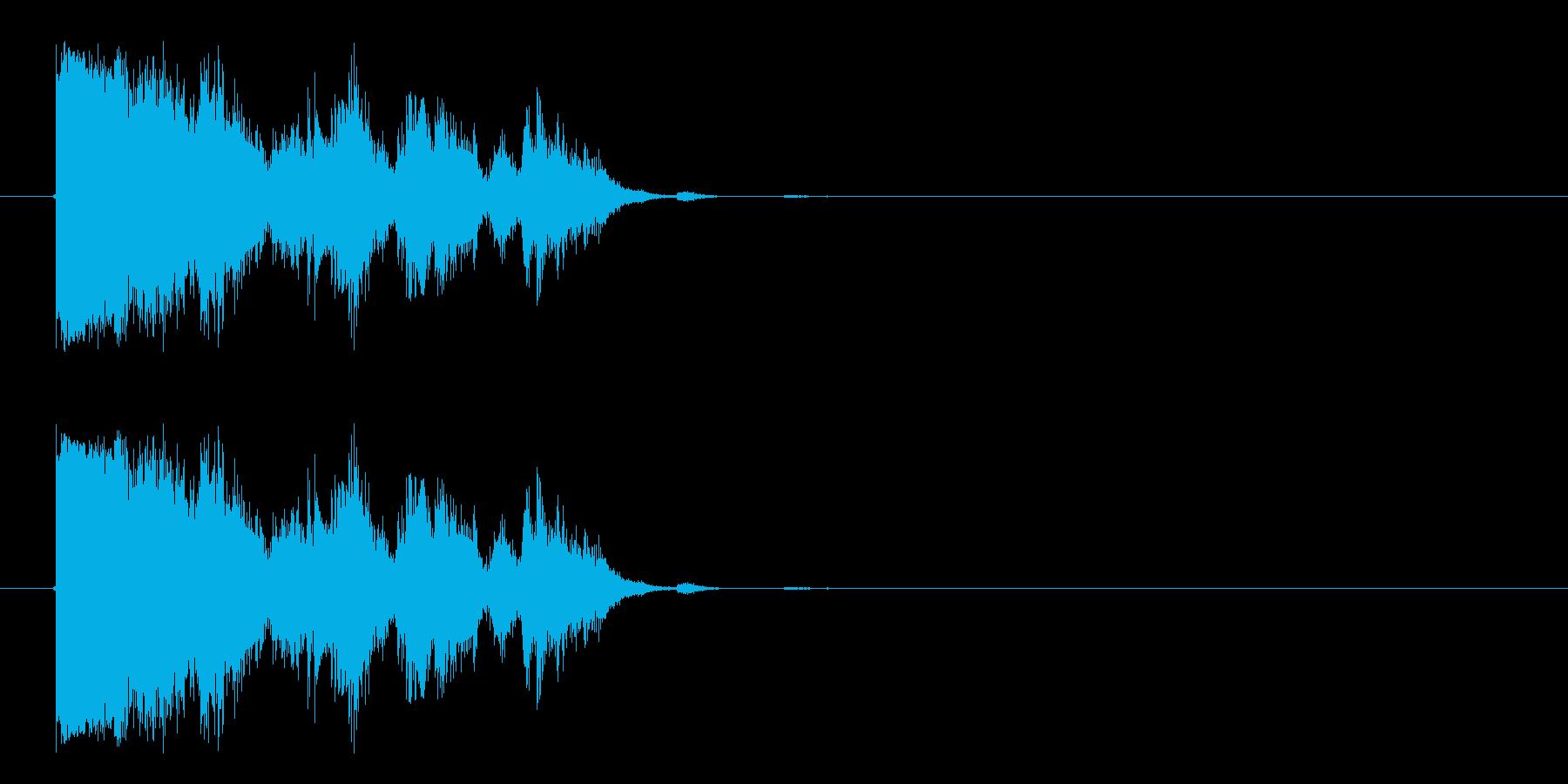 ハードクラッシュメタルヒットメタル...の再生済みの波形
