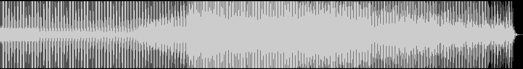 綺麗でambienceなdeeptechの未再生の波形
