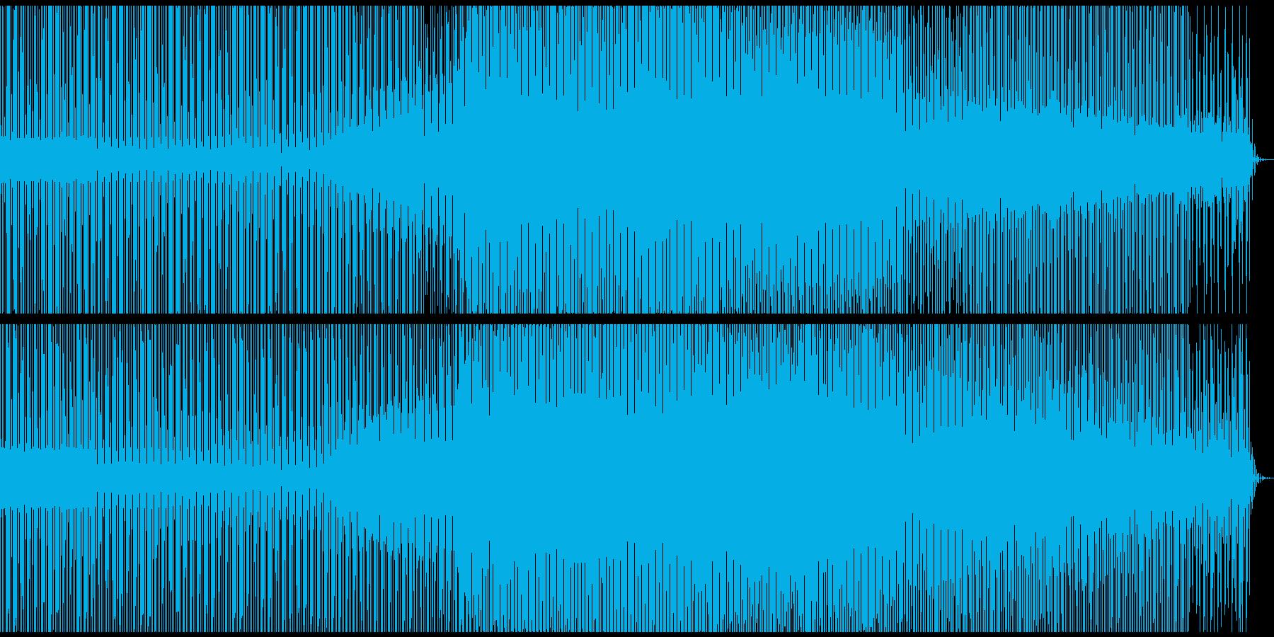 綺麗でambienceなdeeptechの再生済みの波形