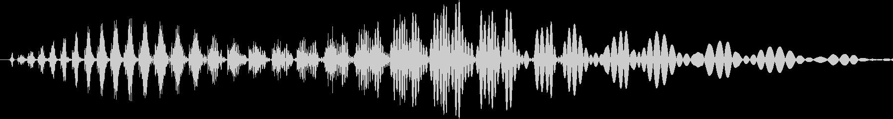 汎用キャンセルボタン - 9の未再生の波形