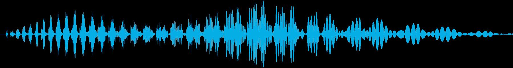 汎用キャンセルボタン - 9の再生済みの波形