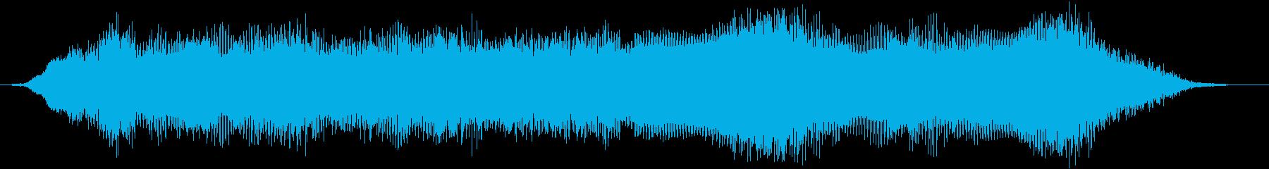 【ホラー演出】SFX_57 グワーンッ!の再生済みの波形