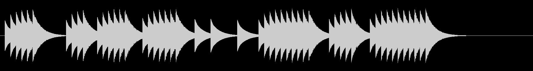 マシンガン連射の長さ組み合わせの未再生の波形