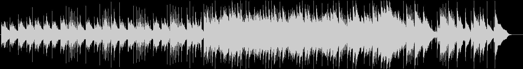 和楽器が印象的な3拍子バラードの未再生の波形