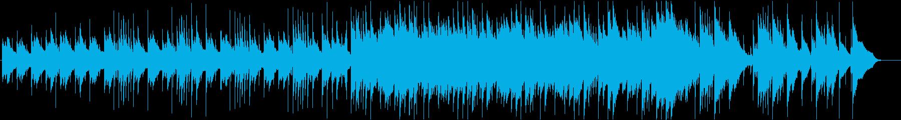 和楽器が印象的な3拍子バラードの再生済みの波形