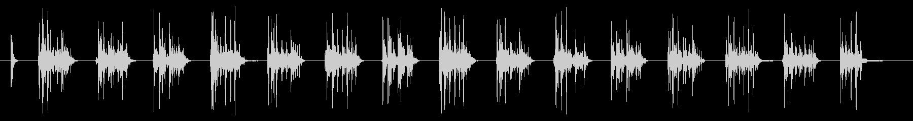 SCI FI マシンガン03の未再生の波形
