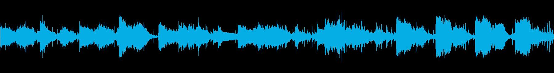 動画 フルート アコースティックギ...の再生済みの波形