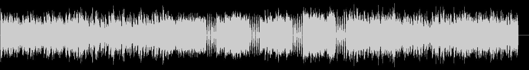 ファミコン調8bitのBGM 2の未再生の波形