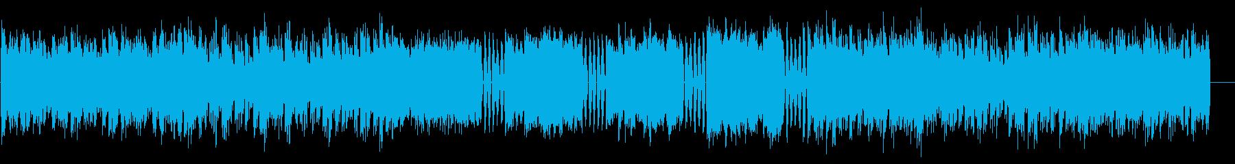 ファミコン調8bitのBGM 2の再生済みの波形