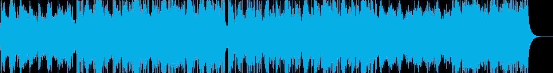 軽快なロック/ポップなロックと優し...の再生済みの波形
