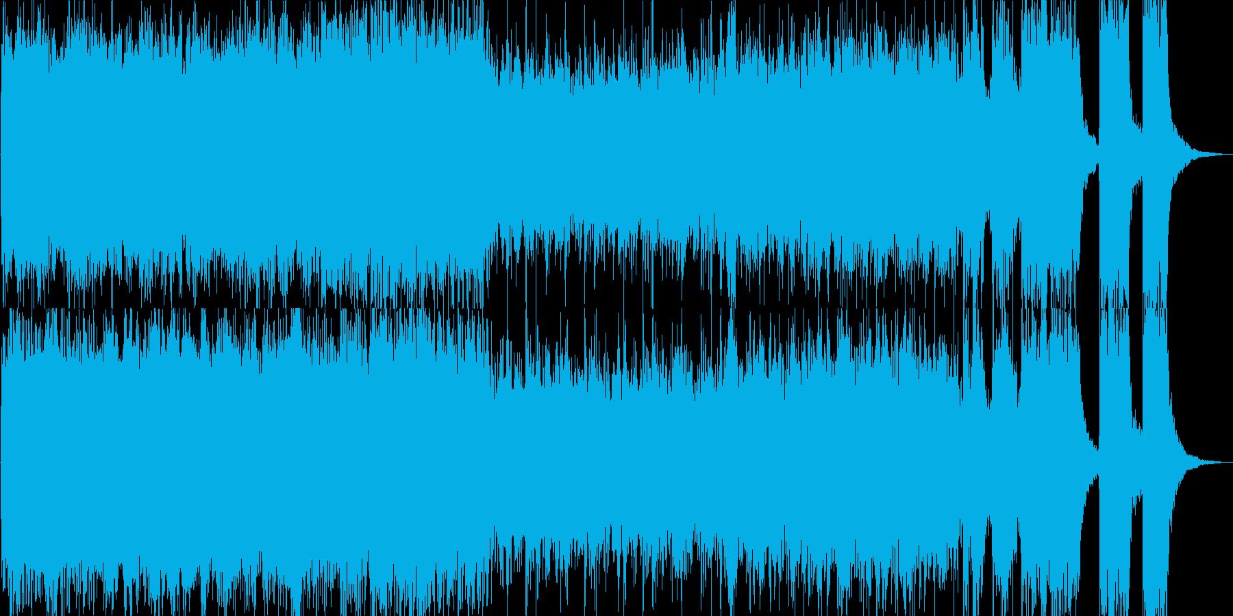 楽しいハロウィンの始まりを描いたBGMの再生済みの波形