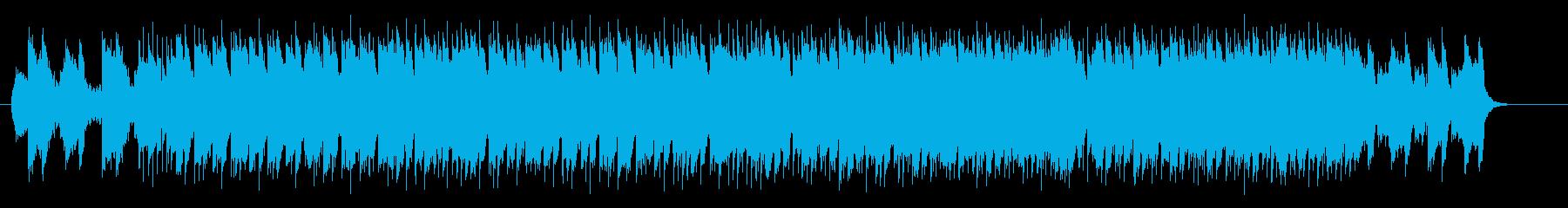 ファンキーでエキサイティングなロックの再生済みの波形
