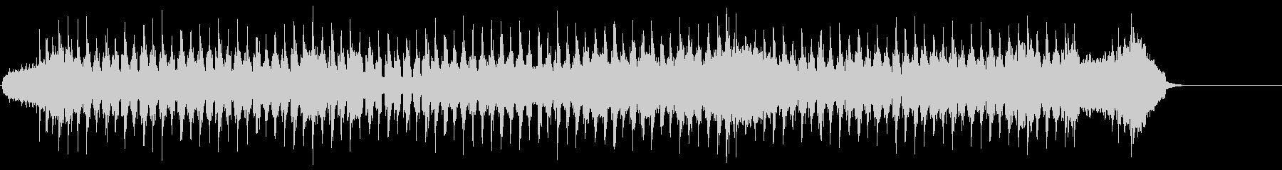 バロック調の爽やかシャッフルポップスの未再生の波形