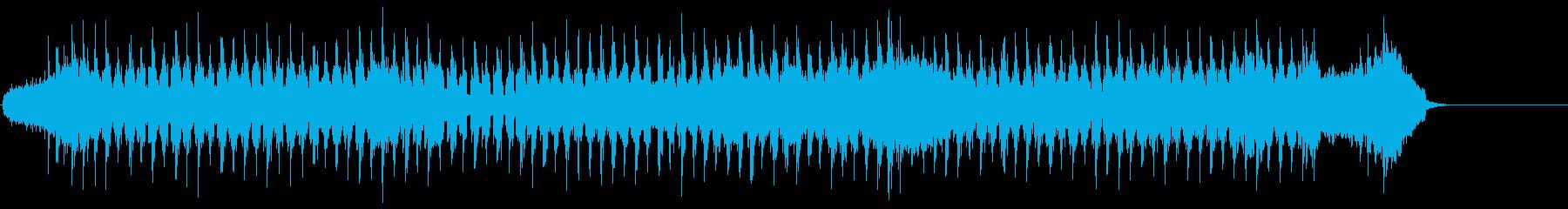 バロック調の爽やかシャッフルポップスの再生済みの波形