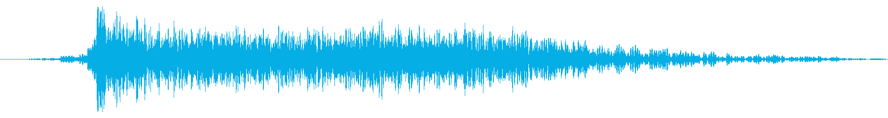 着信フェイザー衝撃爆発の再生済みの波形