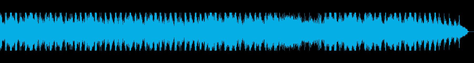 落ち着いたミニマル風のピアノ曲の再生済みの波形