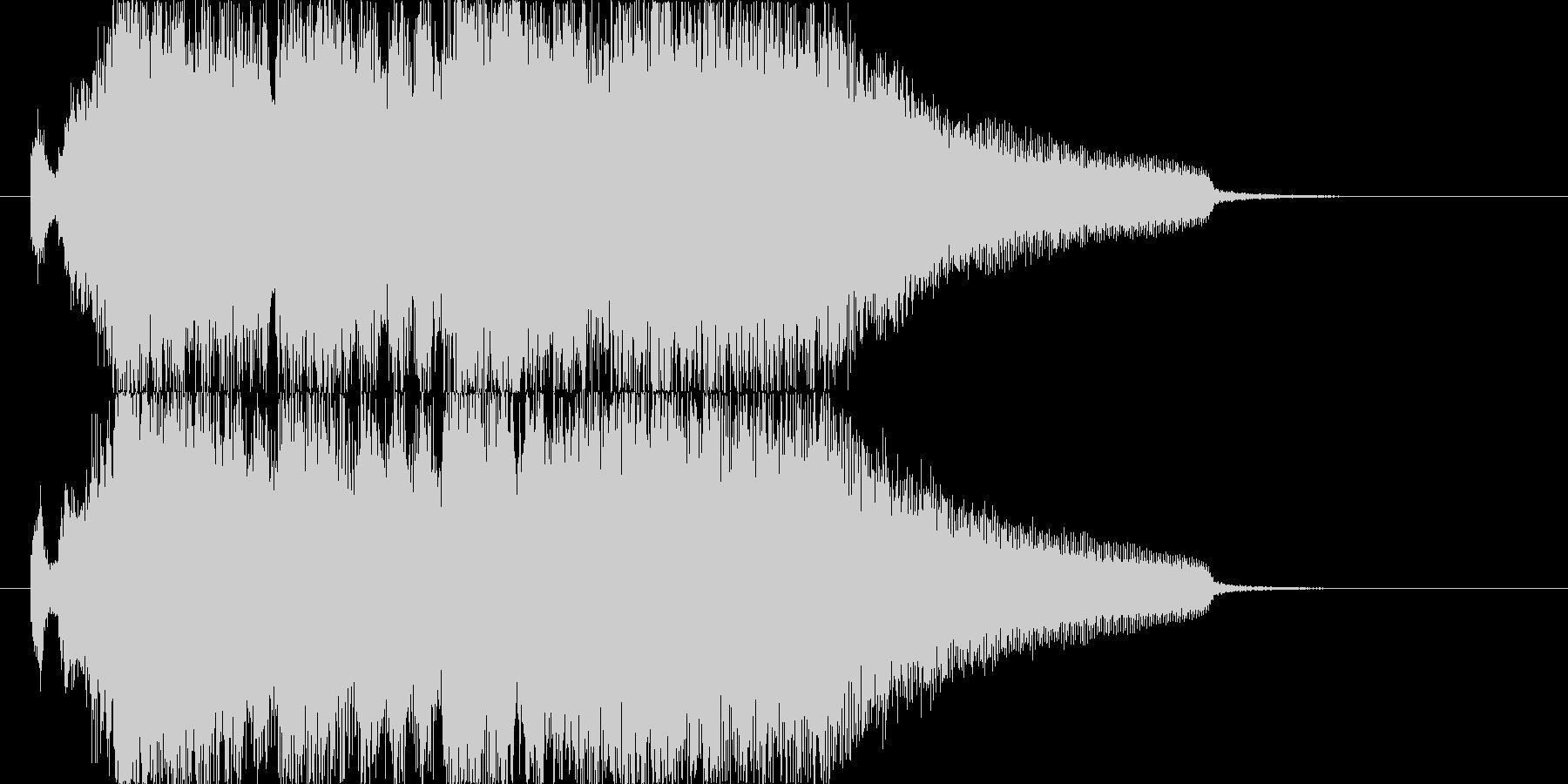 勝利のファンファーレ2の未再生の波形