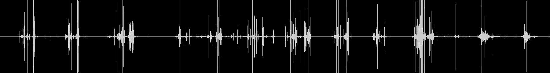 未設定の未再生の波形