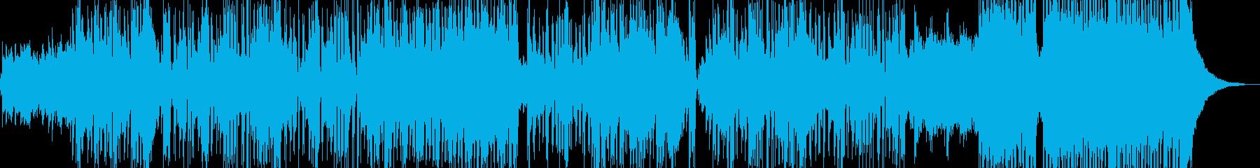 新鮮な空気感の演出・クールなビート C2の再生済みの波形