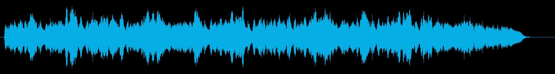 アットホームで心地よいチェロの響きの再生済みの波形