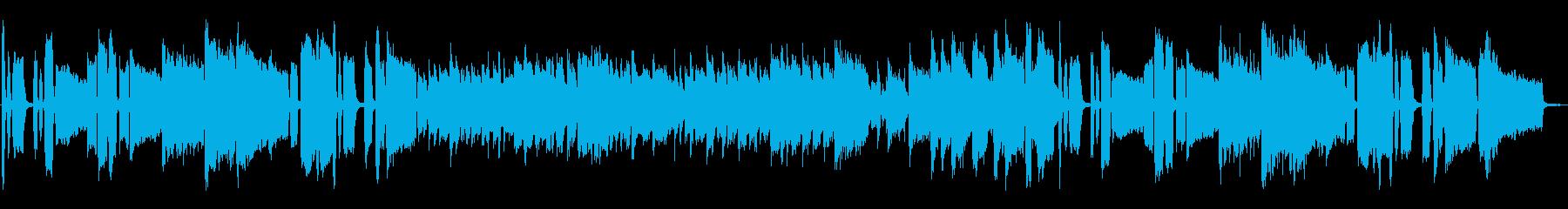 知的なサックスアンサンブルの再生済みの波形
