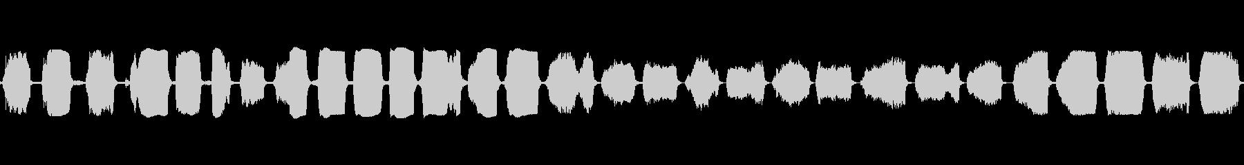 豚の鳴き声の高い子豚の未再生の波形