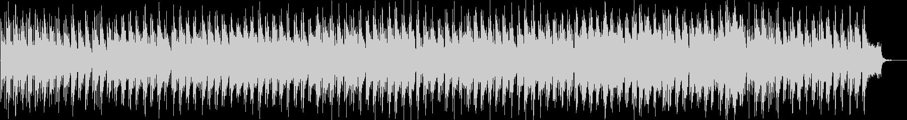 フランシスレイっぽいおしゃれなボサノバの未再生の波形