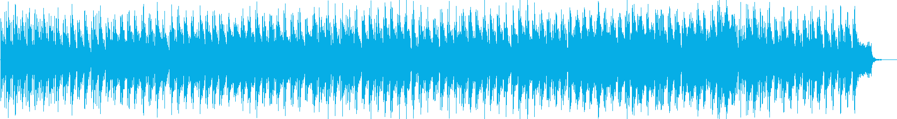 フランシスレイっぽいおしゃれなボサノバの再生済みの波形