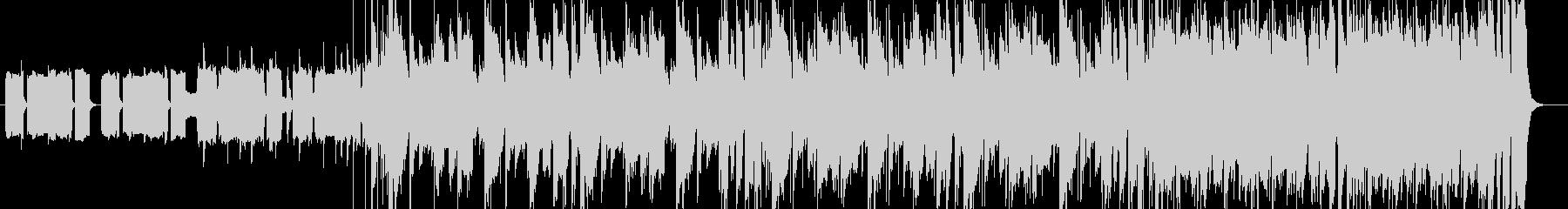 クールでグルーヴィなファンクチューンの未再生の波形