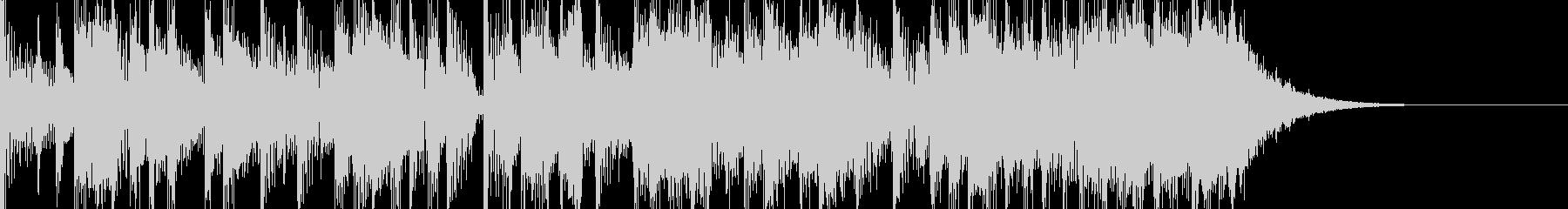 クールでファンキーなエレキロックジングルの未再生の波形