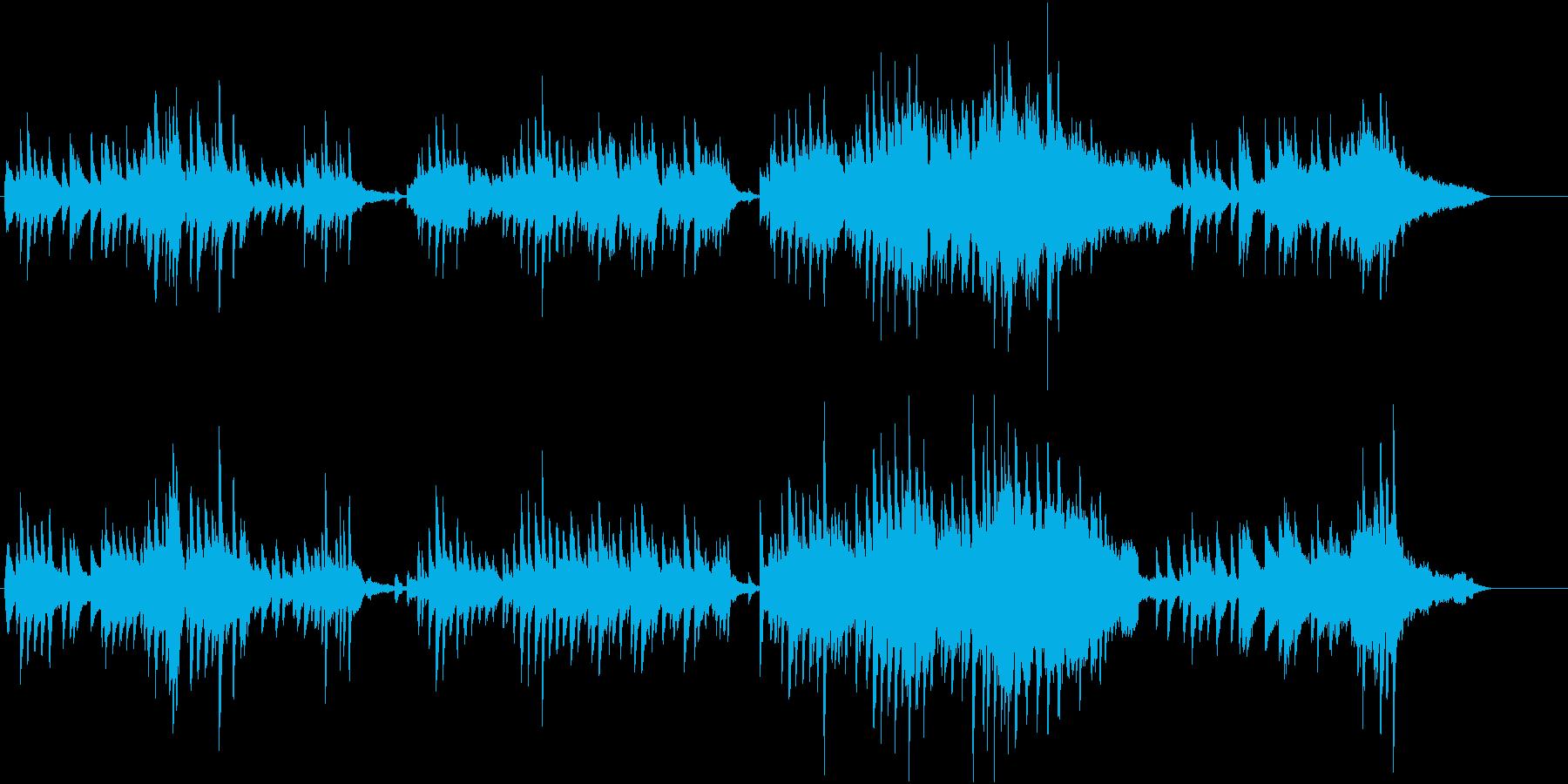 ピアノメインの気だるい曲・CM・挿入曲にの再生済みの波形