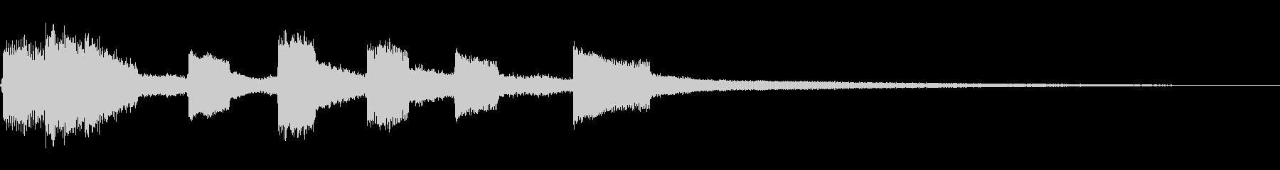 Bell-ジングル_01の未再生の波形