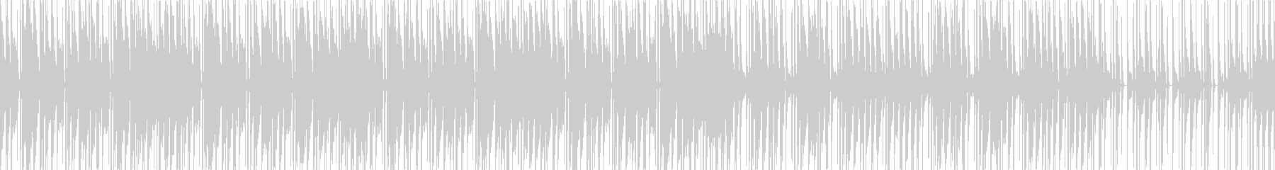 ローファイHIPHOP感のあるインストの未再生の波形