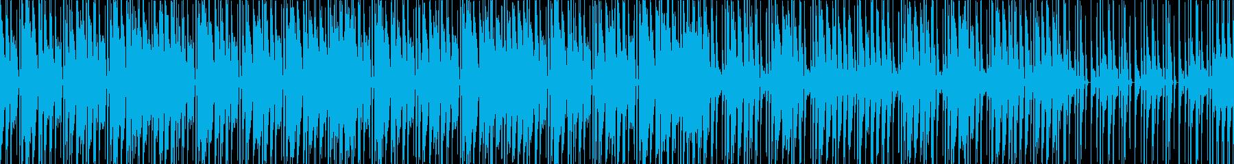ローファイHIPHOP感のあるインストの再生済みの波形