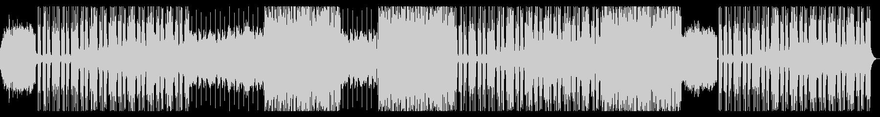 ポップで切ないBGMの未再生の波形